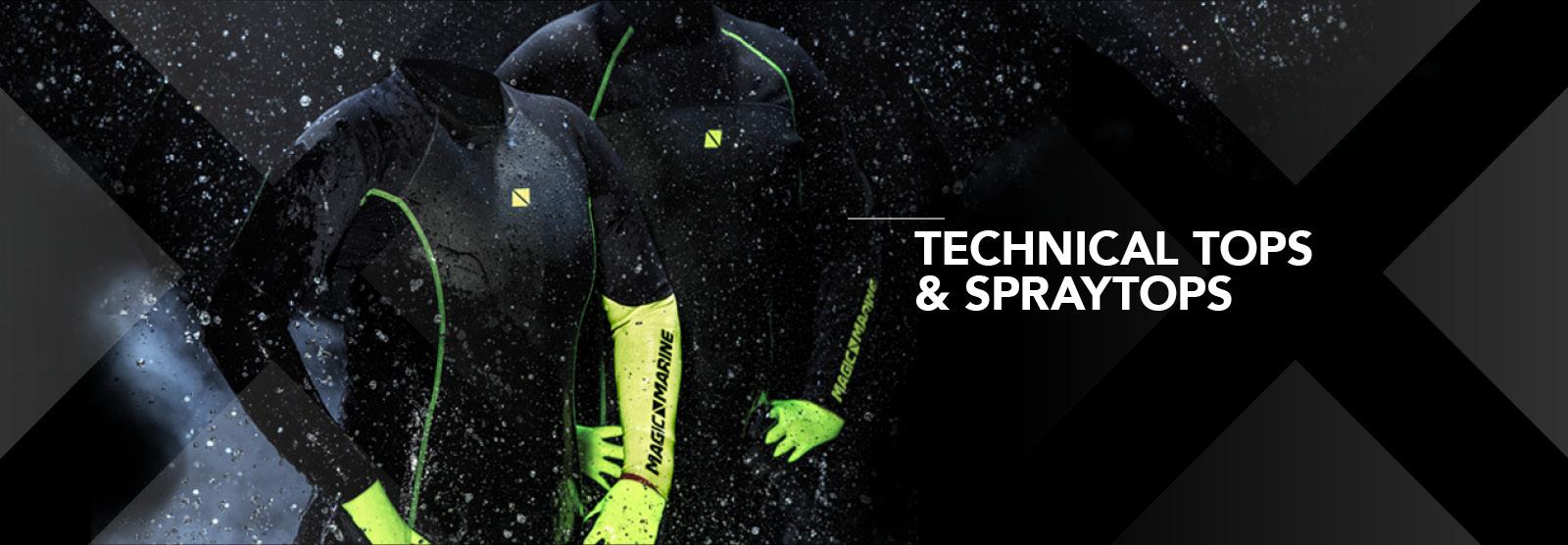 Technical Tops & Spraytop