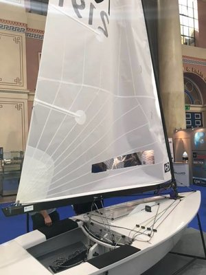 Ovington - OK-jolle Fully Fitted Hull Order Form