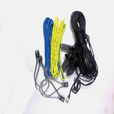 49:er FX Trapeze rope lines complete - 2 pairs