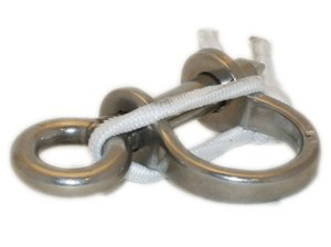 NACRA - Shackle 6 mm with Shockcord