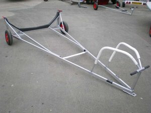 49:er Alloy launching trolley