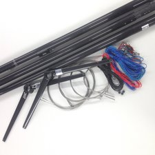 49:er Carbon mast complete - no rigging - tubes and spreaders only